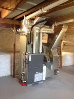 New furnace installed in Butler
