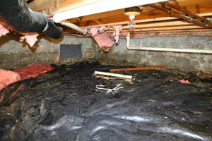 Crawl Space Insulation and Winterization