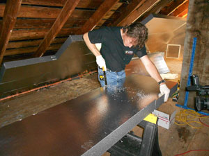 High Quality Total Basement Finishing Flooring in Pittsburgh